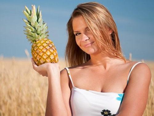 allergisk mot ananas symptomer