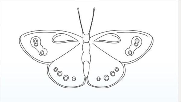 Kagit Kelebekler Ile Oda Dekorasyon Fikirleri