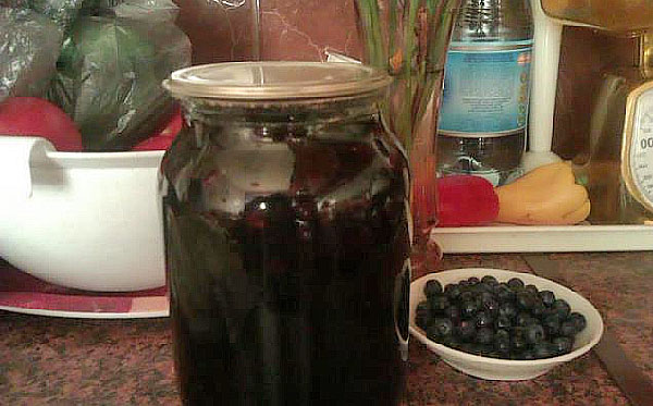 рецепт компот из голубики