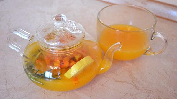 ceai de catina si ghimbir reteta